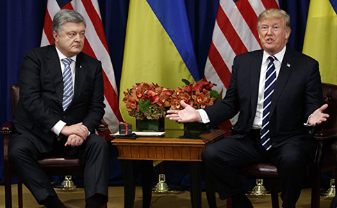 Трамп призвал Порошенко улучшить бизнес-климат Украины— Белый дом