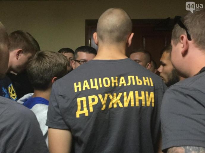 Київраду заблокували через питання Поштової площі