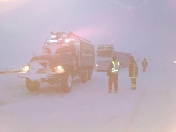 Непогода вУкраине: в4 областях ограничено движение для грузовиков