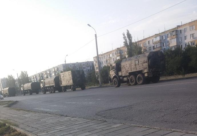 Колона військової техніки