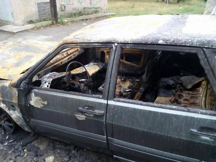 ВХарькове совершили поджог автомобиля репортера