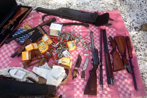 Правоохранительные органы Марьинки задержали мужчину, пытавшегося провезти оружие вукраинскую столицу