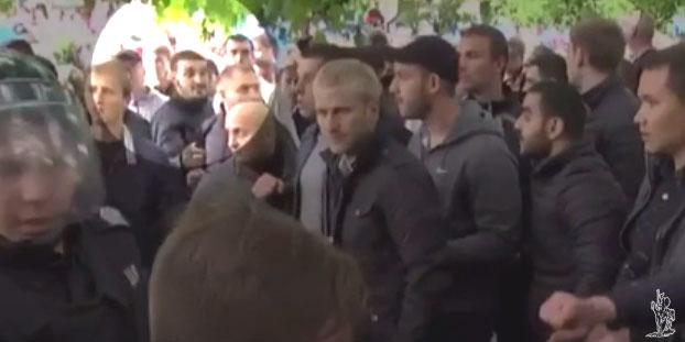 Аваков повідомив про арешт одного зучасників бійки 9 травня уДніпрі