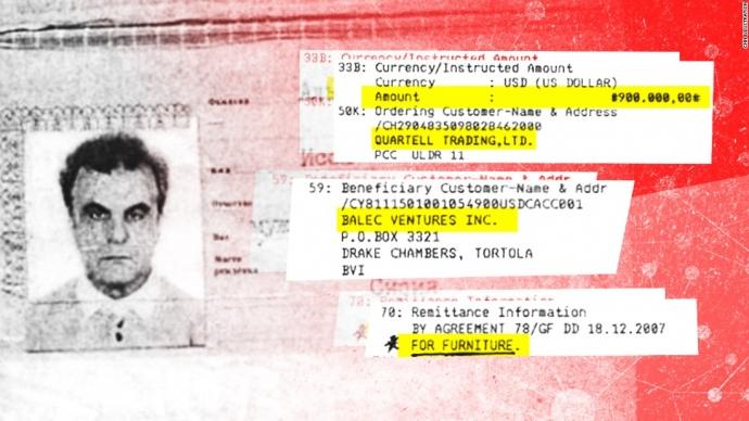 Мафия РФ  дала $900 тыс. нахимическое оружие Асада