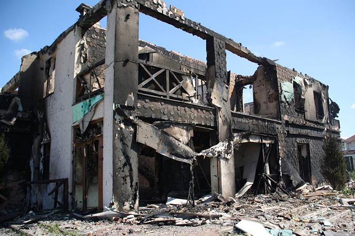 Бойовики обстріляли селище Бердянське зважкої зброї,— СЦКК
