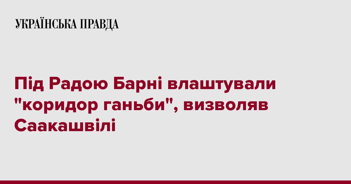 unn.com.ua Під Радою Барні влаштували