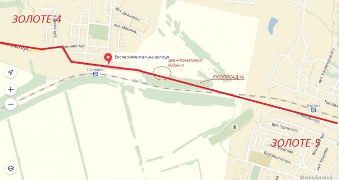 Приблизний маршрут, відтворений за словами місцевих мешканців, яким два роки ходили люди між окупованою бойовиками і підконтрольною Україні частинами Золотого