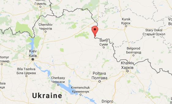 Тьоткіне, Курської обалсті на РФ біля України