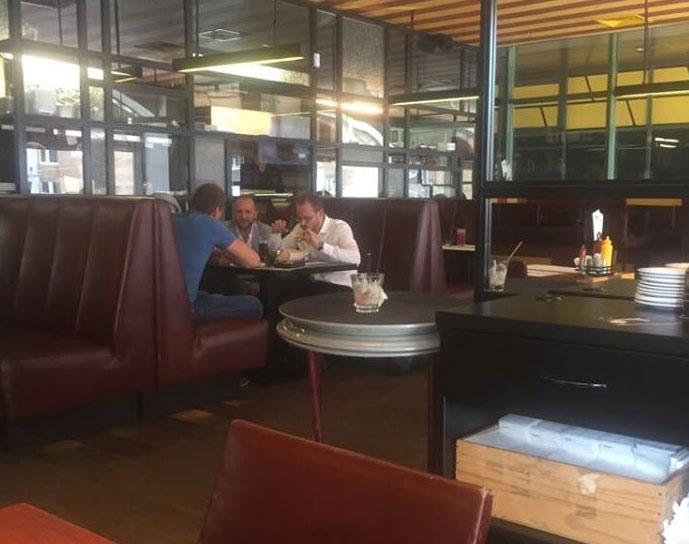 Поляков і Пинзеник обідали разом через день після комітету зпитань недоторканності