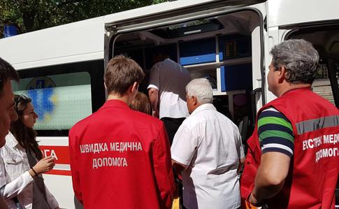 Голодування підАП: Оксану Сироїд забрала «швидка»
