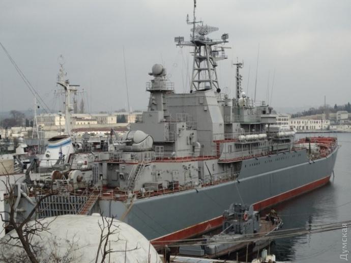 Росія ремонтує для використання вкрадений у України корабель, - ЗМІ - фото 1