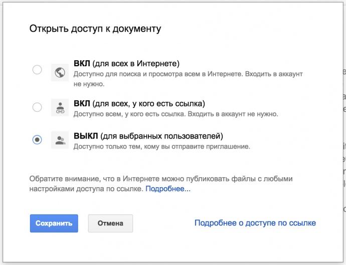 У «Яндекс» потрапила приватна інформація користувачів Google Docs