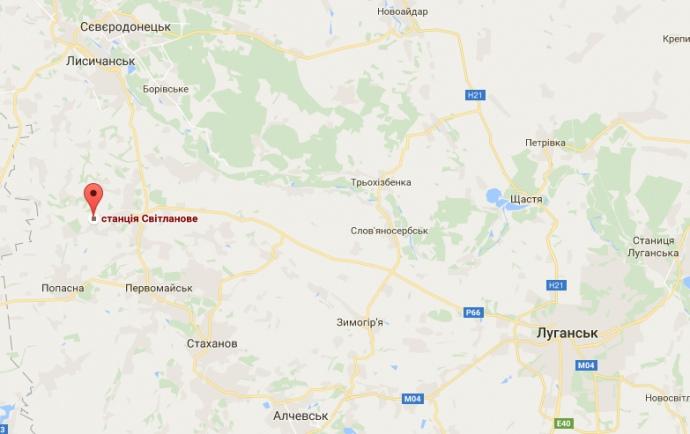 СБУ задержала тепловоз стопливом, движущийся в«ЛНР»