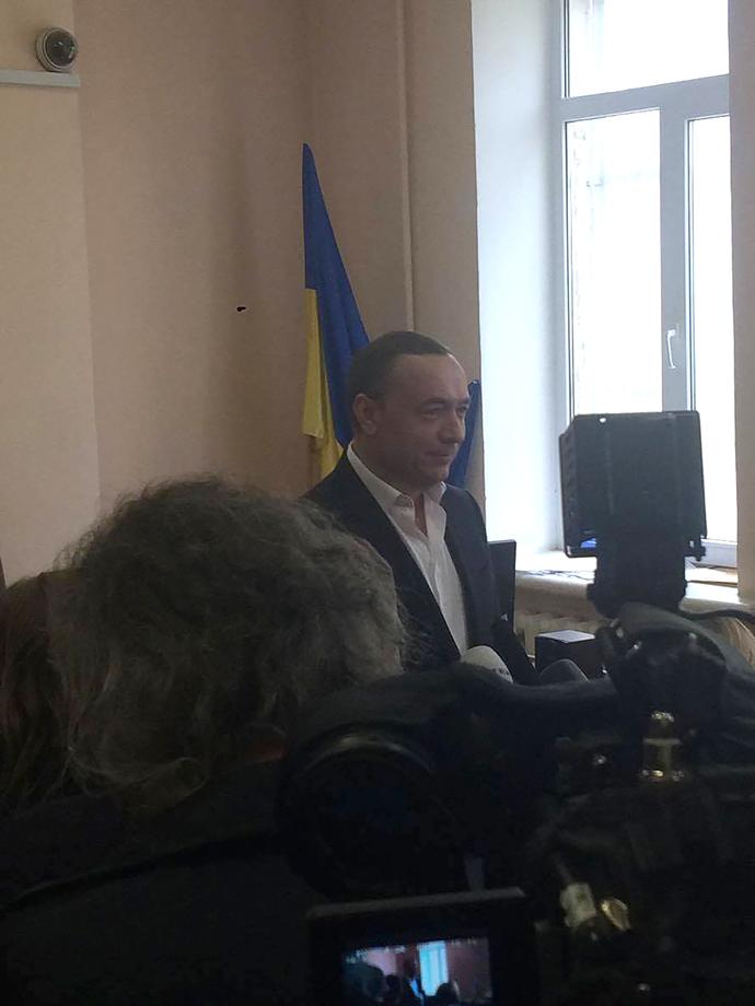 Мартиненко в суді