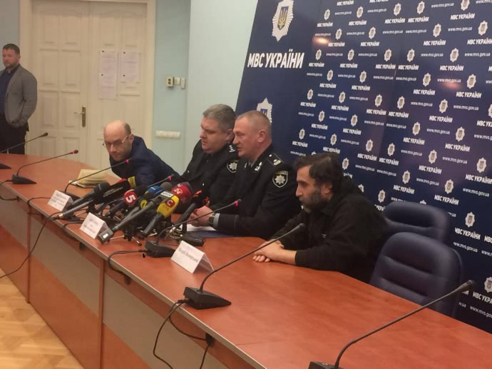 пресс-конференция Людмирского