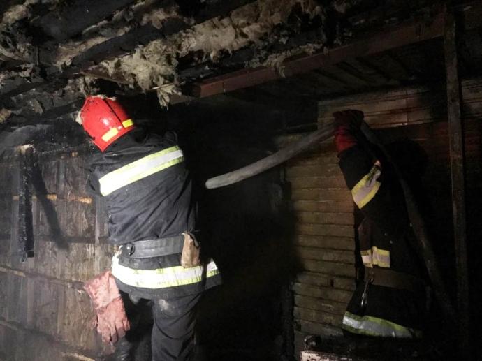 ВХмельницком пожар вшашлычной едва неуничтожил рынок «Привоз»