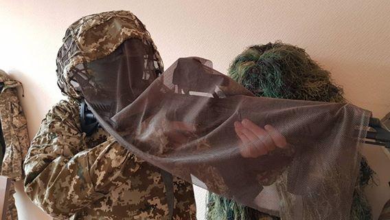 Індивідуальний масккомплект для снайперів ЗСУ розробили при Міноборони