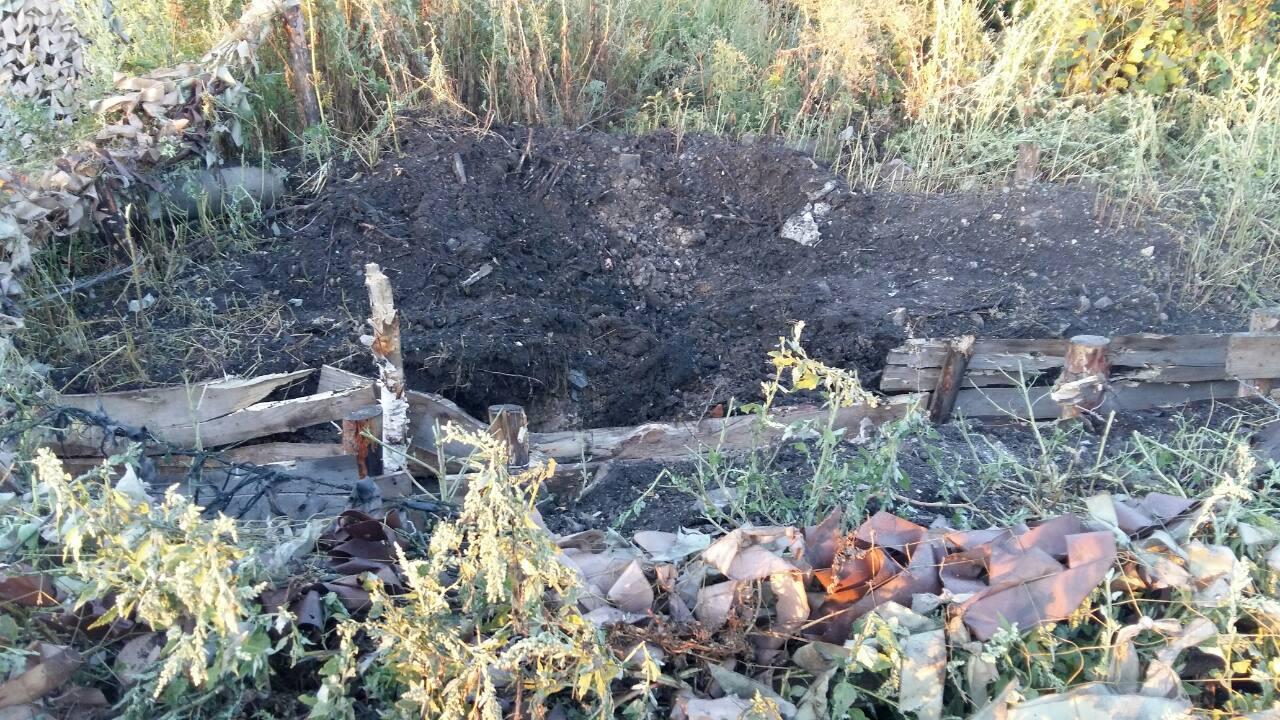 Боевики обстреляли контрольные посты налинии разграничения— АТО