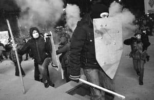 На Грушевского убит протестующий