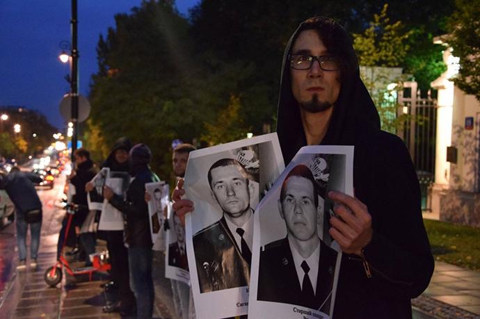 Украинцы вПольше гробовым молчанием поздравили В. Путина сднем рождения