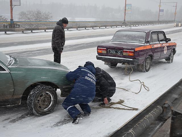 ВОдесской области из-за непогоды впробках стоят больше сотни авто - ГСЧС
