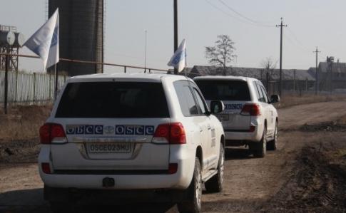 ОБСЄ констатує складнощі здопуском нанепідконтрольну територію наДонбасі