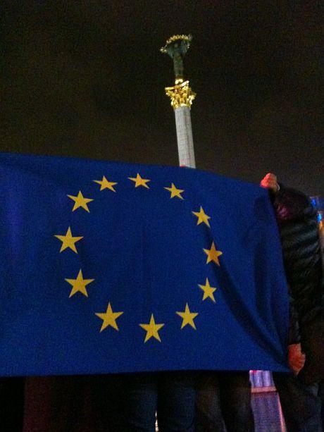 Фото з Майдану Незалежності. Автор - Оксана Коваленко