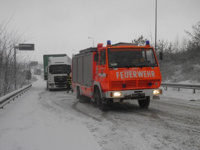 ВОдесской области 35 авто застряли вснежных заторах