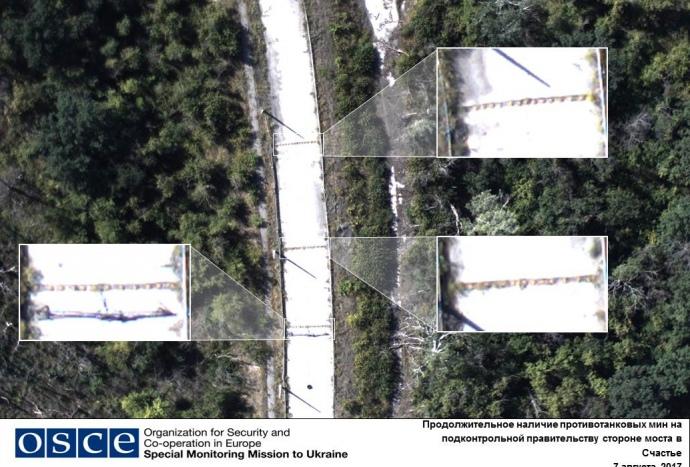 ВДНР сепаратисты задержали фургон миссии ОБСЕ