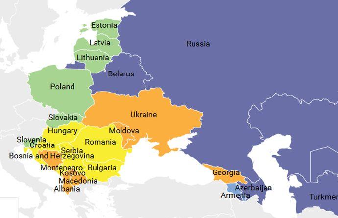 Freedom House: Украина прогрессирует напути демократии