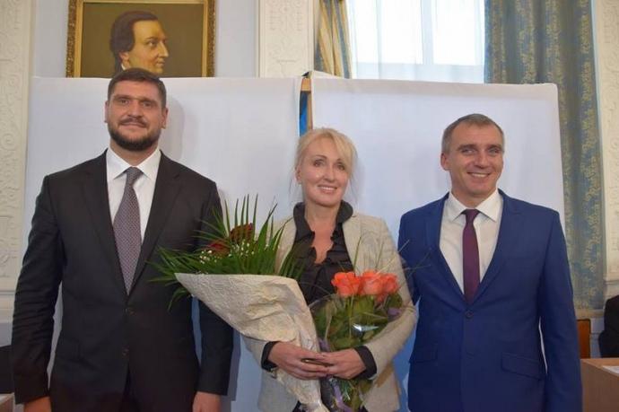 Олексій Савченко, Тетяна Казакова, Олександр Сєнкевич