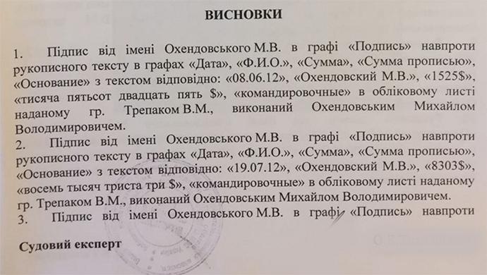 Свидетельства подтвердили оригинальность «амбарной книги» ПР,— НАБУ