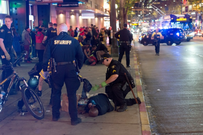 5 человек получили ранения— Стрельба вСиэтле