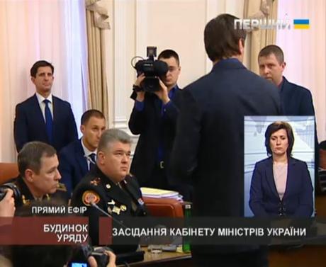 Прямо на заседании Кабмина задержали руководителей Госслужбы по чрезвычайным ситуациям