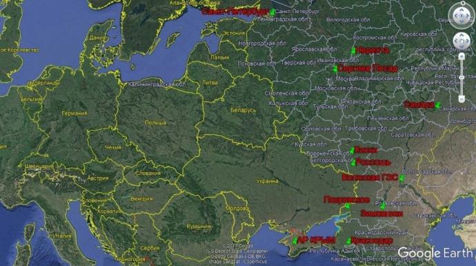 Пересування російської техніки на початку серпня