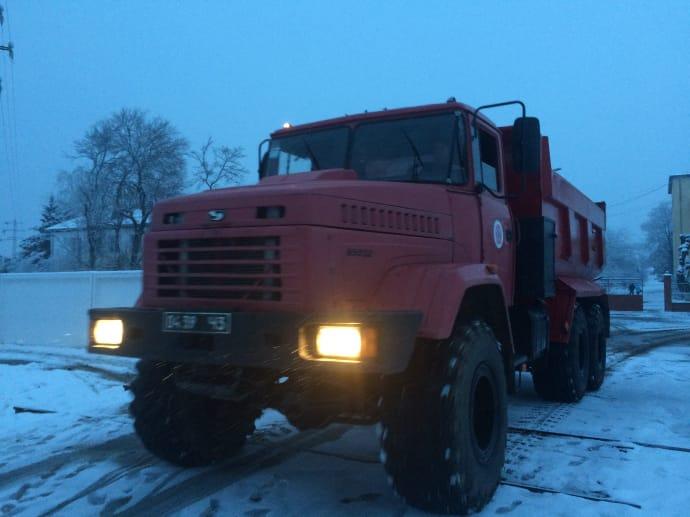 В 2-х областях ограничили движение— Непогода вгосударстве Украина
