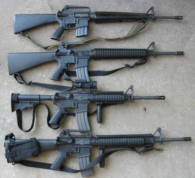 Вгосударстве Украина будут производить американскую винтовку М16