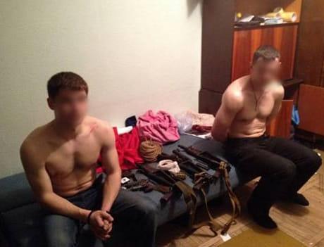 В Киеве захвачены диверсанты, которые выполняли задачи российских спецслужб - СБУ