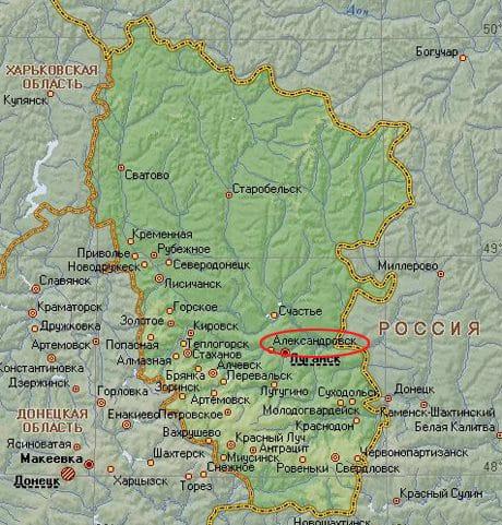 вісім вантажівок бойовиків штурмують об'єкт Нацгвардії на Луганщині