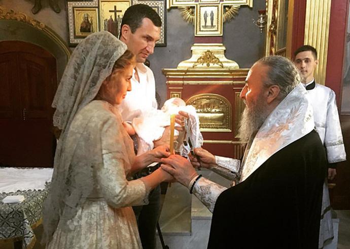 Кличко-молодший і Марченко хрестять дитину