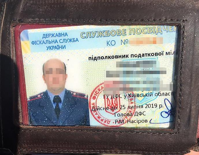 НаКиївщині підполковник податкової «погорів» нахабарі в400 тис