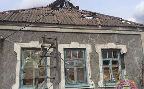 Боевики обстреляли Авдеевку из«Градов», повреждены 18 домов— милиция