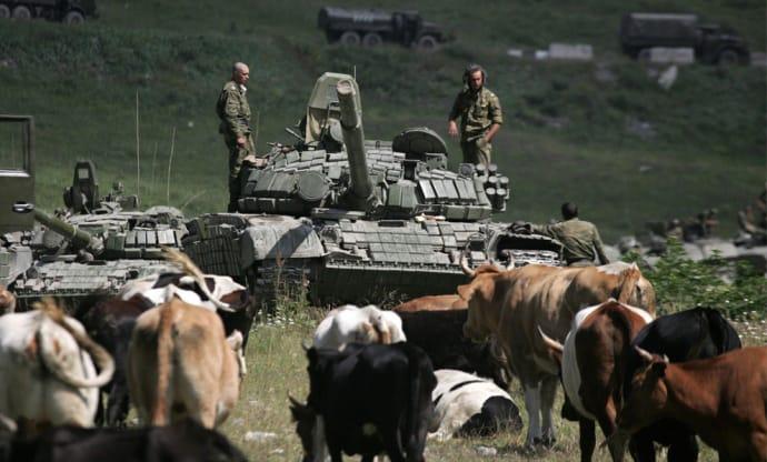 9.08.2008. Росіяни в Грузії