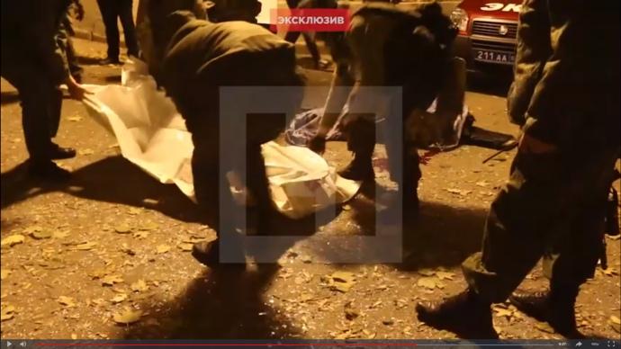 Выносили вчетвером: появилось первое видео сместа убийства Моторолы