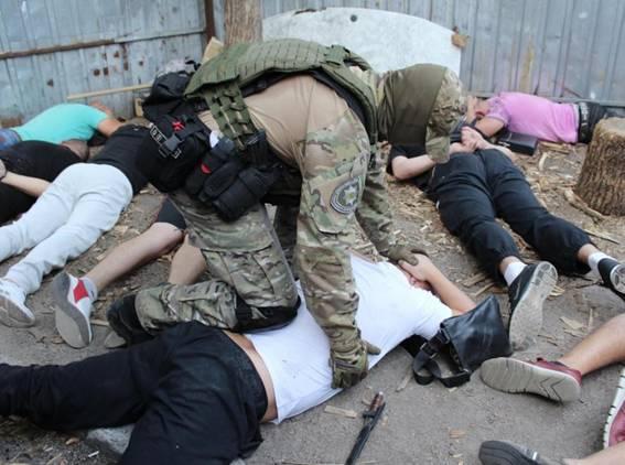 ВКропивницком задержали участников криминальной сходки из 3-х областей
