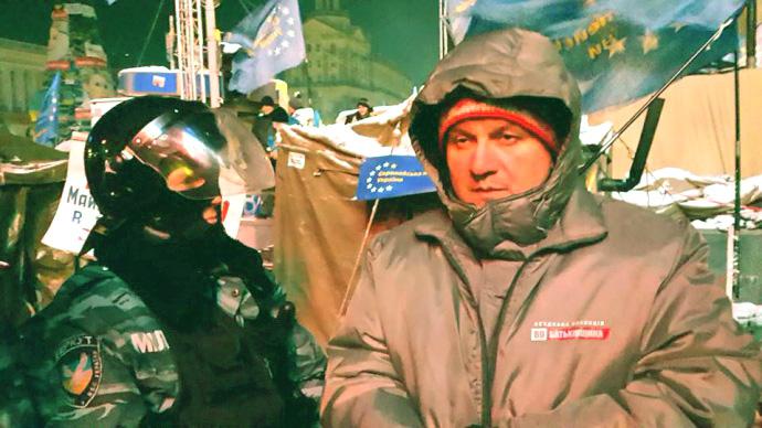 11.12.2013. Аваков на Євромайдані по різні сторони барикад з
