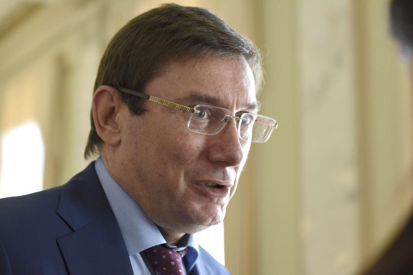 Луценко заявив, що цей випадок ніяк не можна порівнювати зі справою Борислава Розенблата