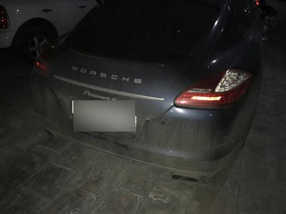 Неизвестные вКиеве обстреляли изавтомата автомобиль футболиста «Динамо»