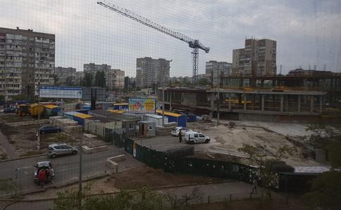 Настройке ТРЦ настанции Героев Днепра вКиеве умер строитель