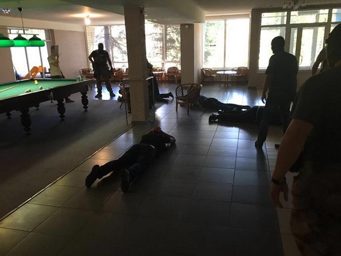 СБУ: НаДонбассе задержали 106 «воров взаконе»